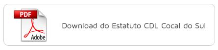 Estatuto CDL Cocal do Sul